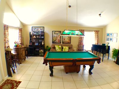 Photo for Video Walkthrough Tour our 5BR Pool/Spa Home with Billiards, Dock and more
