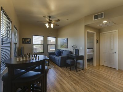 Photo for NEW LISTING!  Rooftop Casita with Private Patio & Mountain Views