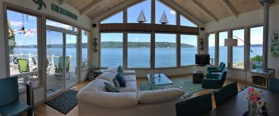 Photo for At Waters edge on Sunrise Beach, a little piece of heaven in Gig Harbor