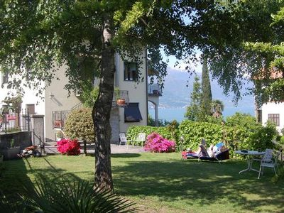 Photo for Apartment Pianello del Lario for 2 - 5 people with 2 bedrooms - Apartment in the sole