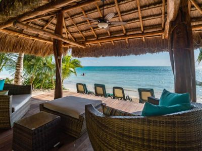 Photo for Beachfront Moonstar Villa with private pool