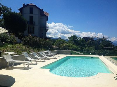 Photo for Luxurious and Chic Villa With Pool Overlooking the Bay of Laveno