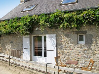 Photo for Vacation home Ferienhaus mit Pool (PLR206) in Plounevez Lochrist - 5 persons, 2 bedrooms