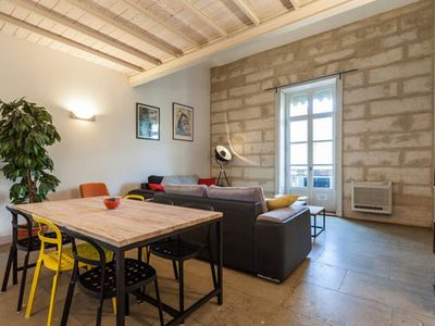 Photo for Beautiful Haussmanian duplex of 100m2 in the city center Montpellier