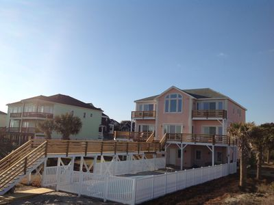 Photo for NEW To VRBO Oceanfront Dolphin Ridge With Pool And Hot Tub.