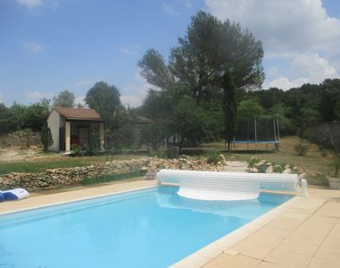Photo for Gite independent Mazet, quiet and kind, heated pool.