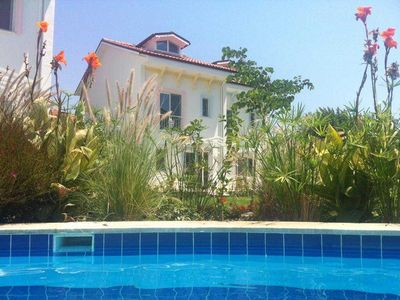 Photo for Spacious, well equipped villa with shared swimming pool and large garden.