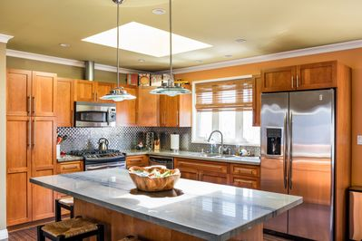 Gourmet kitchen with every amenity - light and bright!
