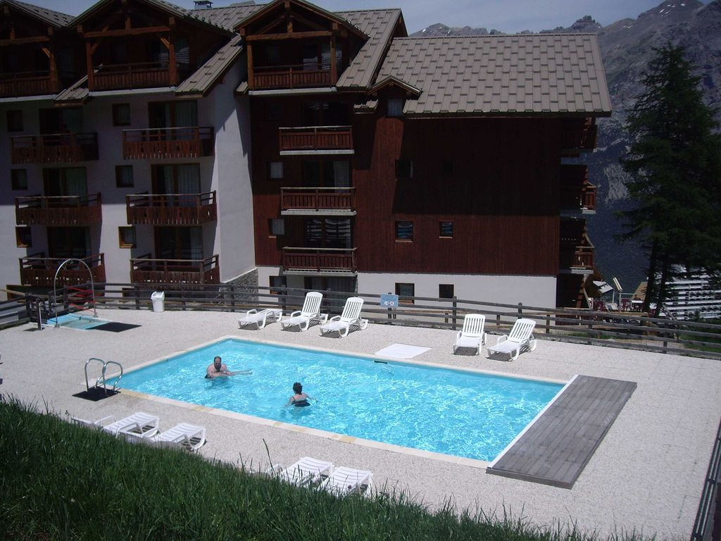 Puy Saint Vincent Holiday Apartment Apt 2 Bedrooms 6 Pers Residence 3