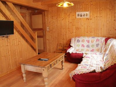 Photo for Comfortable wooden chalet located in a quiet location