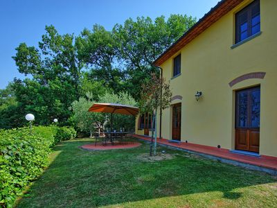 Photo for Wonderful private villa for 6 people with WIFI, A/C, private pool, TV, panoramic view and parking
