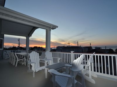Photo for Just Built Holgate (Beach Haven Inlet) 6 BRs Extensive Decks Sweeping Water View