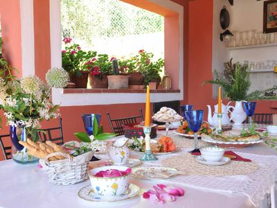 Photo for VILLA ORTENSIA 7 PAX with Pool BBQ WiFi Near to 5 Terre