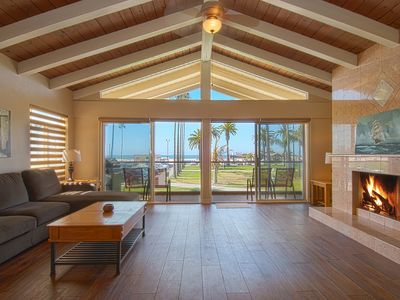 Photo for Delightful upper oceanfront unit located within walking distance to the Balboa Pier.