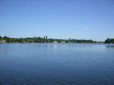 Photo for Waterfront, Pet-Friendly,  Huge Fenced Yard, Boat Lift, Intown