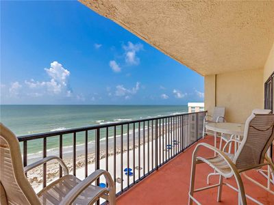 Photo for Las Brisas 504, 3 Bedroom, Sleeps 8, BBQ Area, Gulf Front, Shared Pool