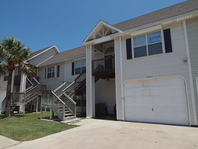 Photo for This lovely 3\2 townhome is just a short walk to the beach in downtown Port A