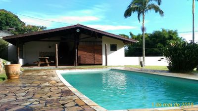 Photo for House in front of Tirolesa - with barbecue area and pool