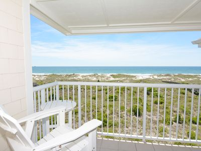 Photo for Wrightsville Dunes H-3C - Oceanfront condo with community pool, tennis, beach