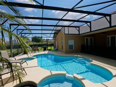 Photo for VRBO STAYED HERE!!  2.5 Miles to Disney! MovieTheater Room, Mickey Private Pool!