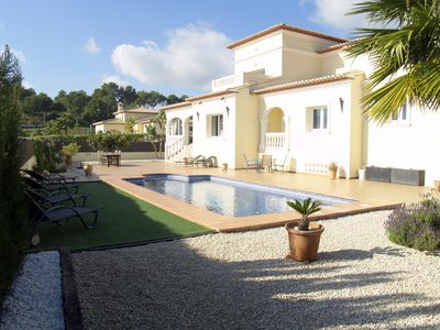 Photo for Stunning Luxury Villa with Private Pool in Moraira.