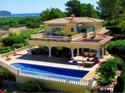 Photo for Villa Javea Nuevo is a spacious well-furnished and fully equipped villa with larger than average pri
