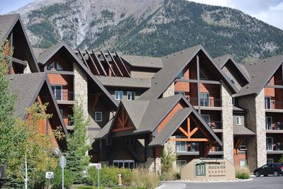 Our condo in the fabulous Grand Rockies Resort