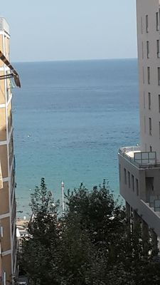 Photo for Calpe: Wonderful appartment with big terrace on the south view on the sea