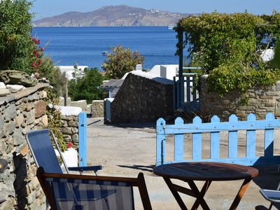Photo for Cycladic beach house, Agios Sostis, Tinos