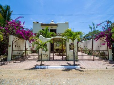 Photo for Beautiful Casa Las Palmas in Guayabitos 4 BR/4 Bath Jacuzi 2 blocks to the Beach