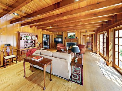 Living Room - Old-world charm and modern comforts seamlessly unite at this beautifully updated 17th-century estate