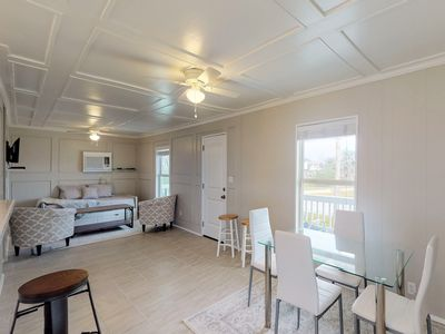 Photo for Dog-friendly home w/ a deck, shared park, & pool - close to the beach