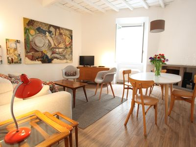 Photo for Via Crispi Spanish Steps Apartment. New right in the central elegant and quiet