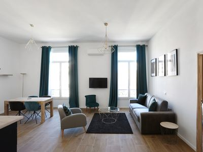 Photo for Modern and bright flat with AC and balcony at the heart of Cannes - Welkeys