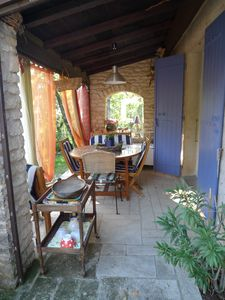 Photo for Pretty Provençal House in the heart of Lubéron, with swimming pool