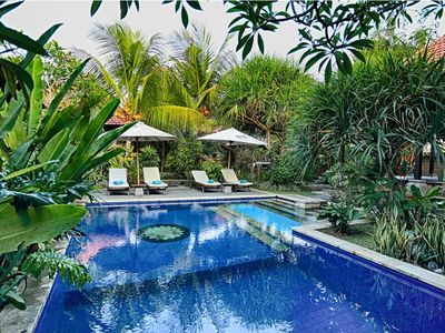 Photo for 3 BR Garden Pool Villa in Ubud  with Breakfast, 5 Min from Monkey Forest