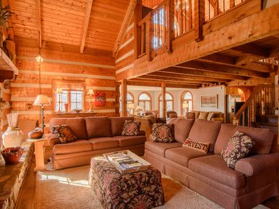 Photo for Mountain Lodge with 3 Living Areas, Hot Tub, Pool Table, Mill Ridge Club Privileges