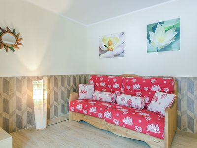 Photo for Cozy Apartment Cesa Marilena with Balcony & Mountain View; Parking Available, Pets upon Request