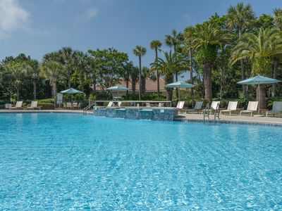 Pool - The sparkling pool has plenty of loungers to soak up the sun.