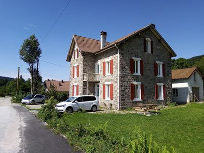 Photo for Gite les Granites with balcony overlooking the lake