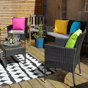 Decking Lounge Area
