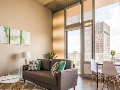 Photo for Magnificent Downtown Views @ Heart of the City 1br