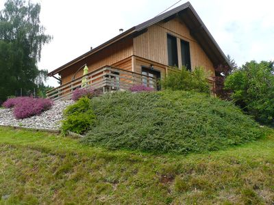 Photo for Beautiful new chalet with 4 bedrooms, ideally located