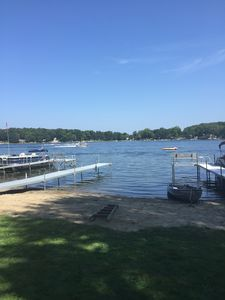 Photo for Quiet Seclusion On Lake Lavine - completely renovated. A