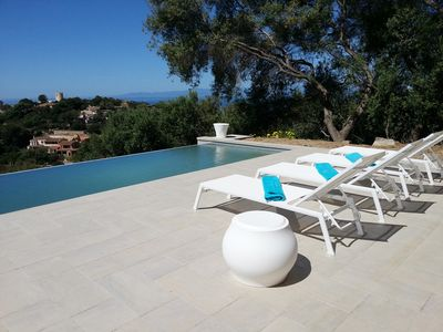 Photo for Renovated house with private pool and sea view (Saturday to Saturday only)
