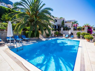 Photo for Luxury Totally Private Villa Very Near The Sea, with Large Heated Pool & Garden