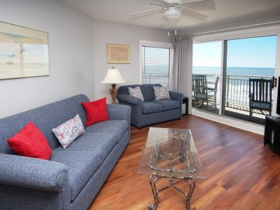 Photo for Xanadu II 501, Spacious 3 BR Ocean Front Condo with an Outside Swimming Pool and Beautiful Ocean Front Views
