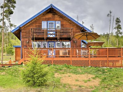 Photo for Silverthorne Home w/Wraparound Deck, Views, 1 Acre