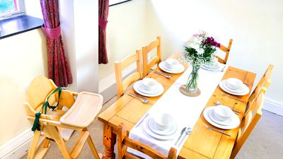 Dining Room with High Chair