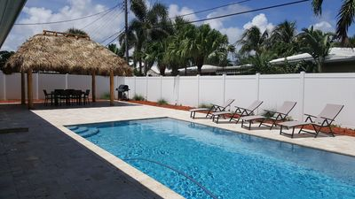 Photo for ★  NEW   ★   Private Home w/ Pool & Patio   ★   Near Beach, Dining